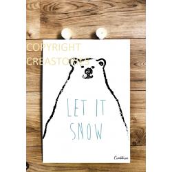 Affiche Let It Snow