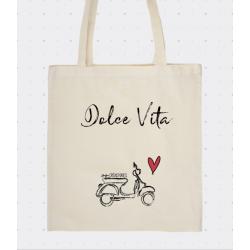 sac tote bag sur l'italie