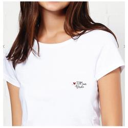 T-shirt Team Bride en coton...